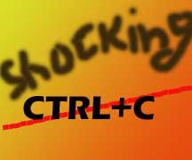 Shocking Ctrl+C