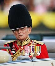 King Bhumibol Adulyadej, Thailand