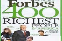Forbes 400 Richest People in America