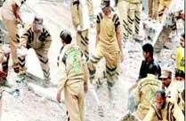 Delhi Building collapse LaxmiNagar