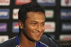 Bangladeshi Captain Shakib Al Hasan