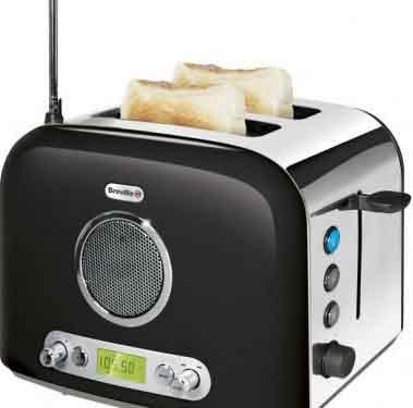 Breville Toaster Radio