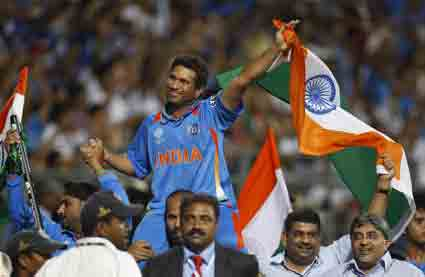 Dhoni best Captain -Sachin