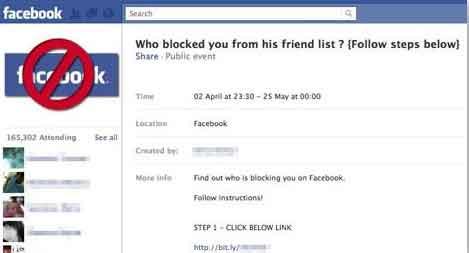 Facebook Online Survey Scam