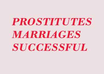 Prostitutes Marriages Successful