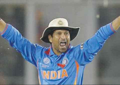 Wisden Cricketer of 2010 – Sachin Tendulkar