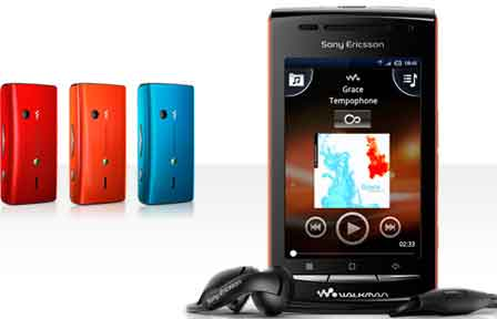Sony Ericsson W8 Walkman Mobile Features