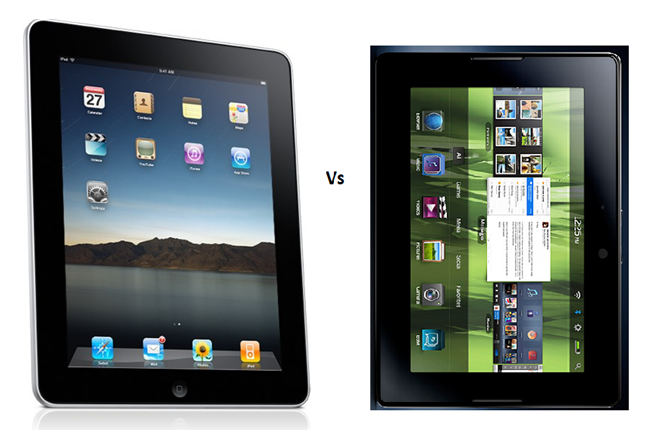 iPad2 Vs. Playbook
