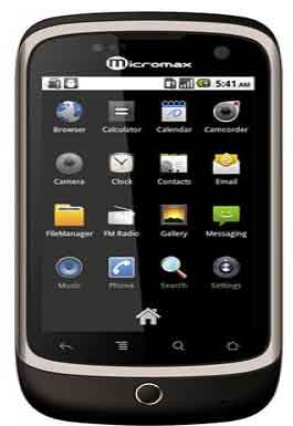 Micromax A70 Mobile Price in India