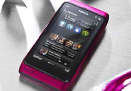 Pink Nokia N8 Features