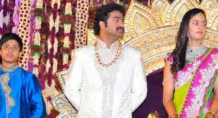 ntr Jr Marriage Photos