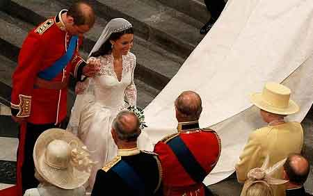 Royal Marriage of Prince William & Kate