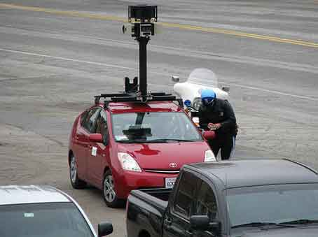 Google Street View Service in India