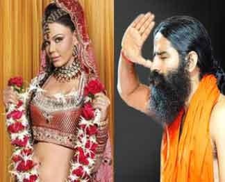 Rakhi Sawant proposes Baba Ramdev