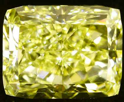 Biggest Yellow Diamond Golden Eye