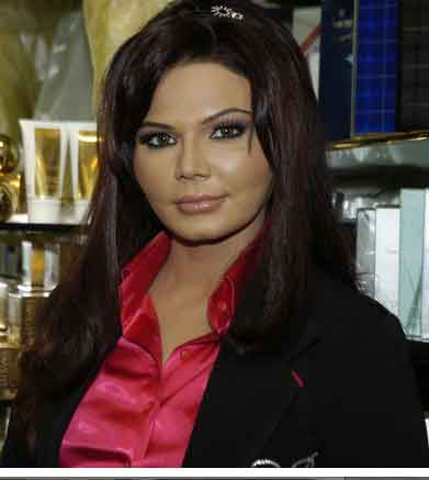 Rakhi dress like Sandra