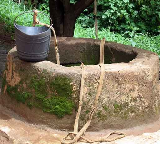 Mysterious Indian well