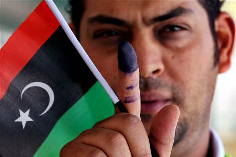 Libyan Election 2012
