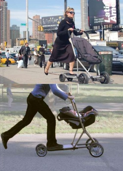Great-Idea-Look-at-this-Baby-Stroller-Scooter-go-moms.