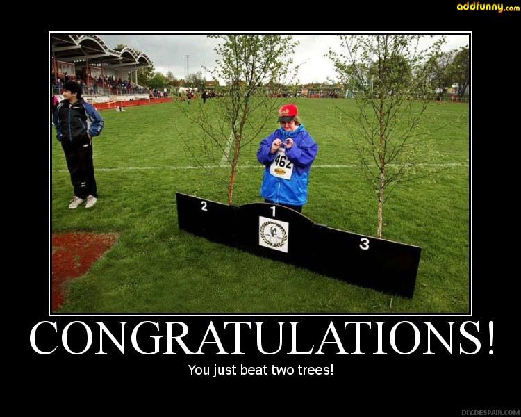 congratulationsyoujustbeat